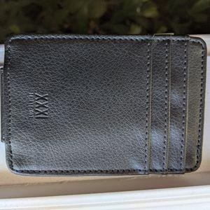 XXXI THIRTY ONE black Wallet / Money clip